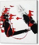 Red Brigade Dancers Canvas Print