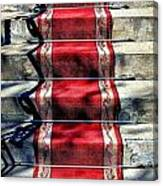 Red Carpet Treat Canvas Print