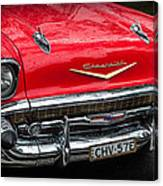 Red Chevvy Canvas Print