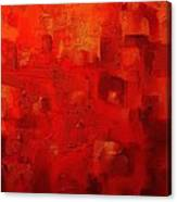 Red City 2 Canvas Print