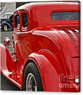Red Coupe Canvas Print