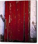 Red Door Canvas Print