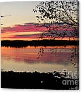 Red Evening Sky Canvas Print