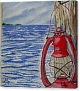 Red Lantern Canvas Print