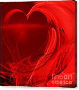Red Love . Square . A120423.279 Canvas Print