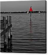 Red Marker 6 Canvas Print