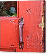 Red Of Course Canvas Print