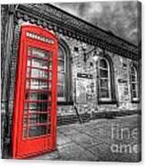 Red Phone Box Canvas Print