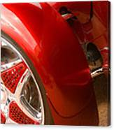 Red Prowler  Canvas Print
