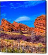 Red Rocks Park Colorado Canvas Print