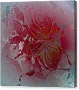 Red Roses Rose Rosse Canvas Print