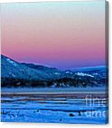 Red Sky At Dawn Canvas Print
