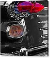 Red Tail Lights Canvas Print