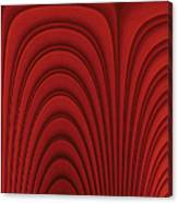 Red Textured Background Canvas Print