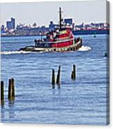 Red Tug One Canvas Print