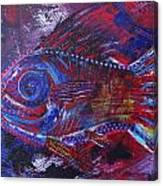 Redribfish Canvas Print