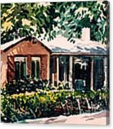 Redwood City #4 Canvas Print