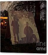 Reenactors Camp Canvas Print
