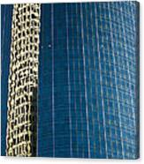 Reflected Building Canvas Print