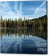 Reflecting Blue Canvas Print