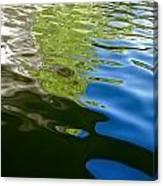 Reflecting Lake Of The Isles  Canvas Print