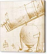 Reflecting Telescope Canvas Print