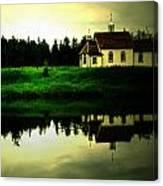 Reflection Of Faith  Canvas Print
