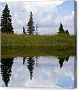 Reflection Of Lake Canvas Print