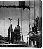 Reflection Of The City Canvas Print