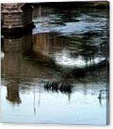 Reflection Tevere Canvas Print