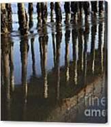 Reflections Avila Beach California Canvas Print