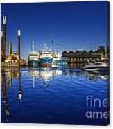 Reflections At Freemantle Canvas Print