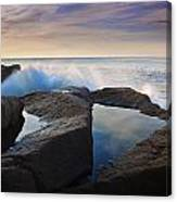 Reflections In Monument Cove Canvas Print