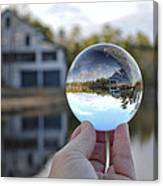 Reflections Of A Beautiful Day Canvas Print