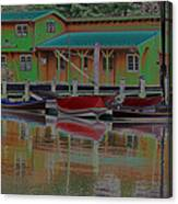Reflections Of Color Canvas Print