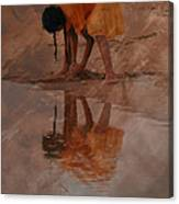 Reflections Of India Canvas Print