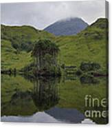 Reflections Of Loch Ailt Canvas Print