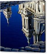 Reflections Of Rome Canvas Print