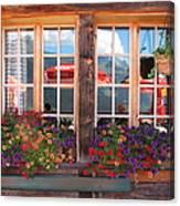 Reflections Of Switzerland Canvas Print