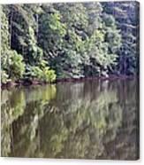 Reflections On Aldridge Lake Canvas Print