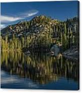 Reflections On Salmon Lake Canvas Print