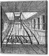Refrigerated Ship, 1876 Canvas Print