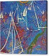 Regata Di Primavera Canvas Print