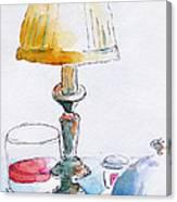 Regatta Grand Dining Room Canvas Print