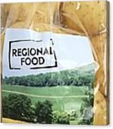 Regional Food Canvas Print