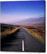 Regional Road In County Wicklow Canvas Print