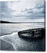 Reighton Sands Beach Canvas Print