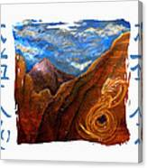 Reiki Healing Art Of The Sedona Vortexes Canvas Print