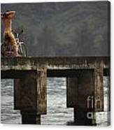 Relaxed Ride Hanalei Bay Canvas Print