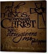 Religious Quote Canvas Print